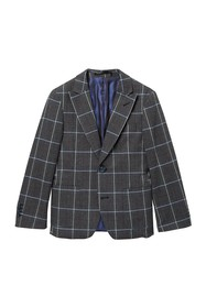 Isaac Mizrahi Windowpane Blazer (Toddler