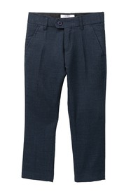 Isaac Mizrahi Textured Slim Fit Pants (Toddler