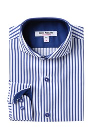 Isaac Mizrahi Striped Dress Shirt (Toddler