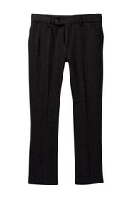 Isaac Mizrahi Solid Wool Blend Dress Pant (Toddler