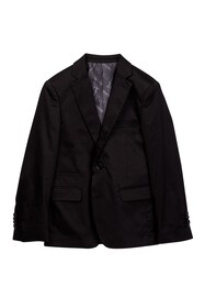 Isaac Mizrahi Notch Collar Solid Blazer (Toddler