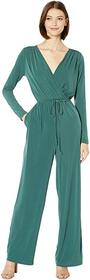 BCBGeneration Surplice Jumpsuit