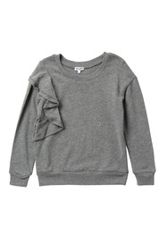 Splendid Ruffle Sweatshirt (Big Girls)
