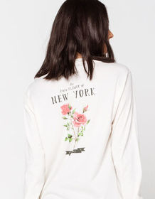 FULL TILT New York Rose Back Hit Womens Tee_
