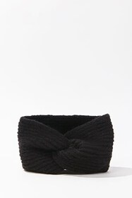 Forever21 Twisted Brushed Ribbed Headwrap