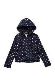 Splendid Dot Print Hoodie (Little Girls)