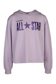 Converse Sparkle French Terry Boxy Pullover Hoodie