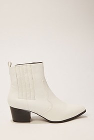 Forever21 Faux Leather Pointed Toe Booties