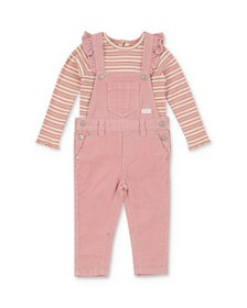 7 For All Mankind - Girls' Striped Tee & Corduroy