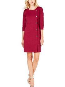 NY Collection Womens Petites Crossover Officewear