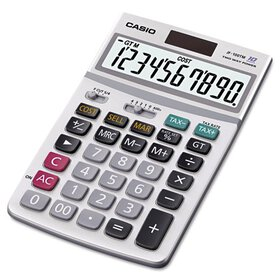 Casio JF100MS Desktop Calculator, 10-Digit LCD