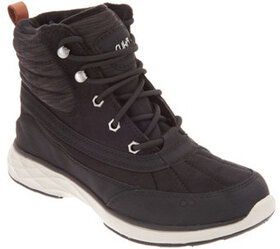 Ryka Water-Repellant Lace-Up Boots - Leanna - A310