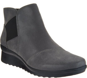 CLOUDSTEPPERS by Clarks Wedge Ankle Boots - Caddel