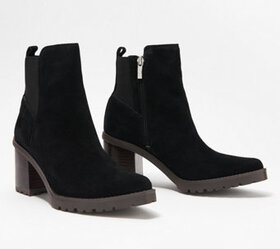 Franco Sarto Suede Ankle Boots - Tori - A368577
