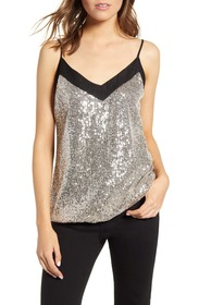 7 For All Mankind Sequin Camisole