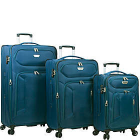 Dejuno Cirrus 3 Piece Lightweight Spinner Luggage