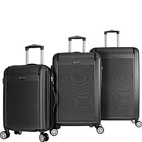 World Traveler Malibu 3 Piece Hardside Lightweight
