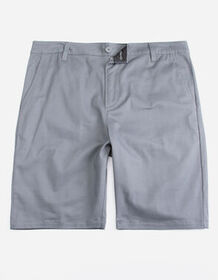BLUE CROWN Classic Charcoal Mens Chino Shorts_