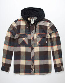 ELEMENT Tacoma Hooded Flannel Shirt_