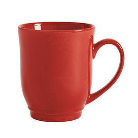 Brigitte Mugs - Set of 4 Red