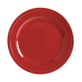 Brigitte Dinner Plates - Set of 4 Red