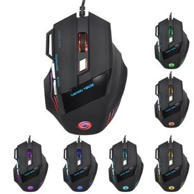 Gaming Mouse Wired Programmable 7 Buttons - Led Ba