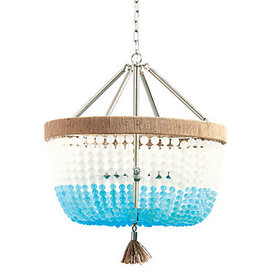 Piper Beaded Chandelier - Turquoise