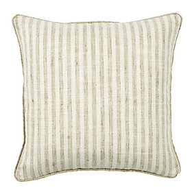 Rabun Stripe Pillow Cover - Wheat