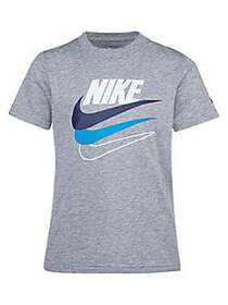 Nike Little Boy's Just Do It Graphic Cotton Tee GR
