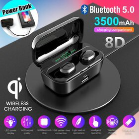 2020 Latest New In-Ear Wireless Charging Mini LED