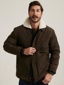 Lucky Brand Sherpa Nylon Coat