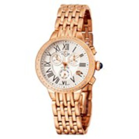 GV2 GV2 Astor Chronograph Womens Diamond Rose Gold