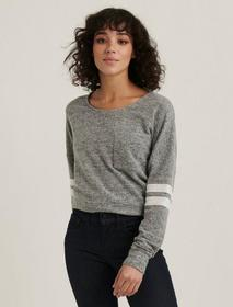 Lucky Brand Cloud Jersey Athletic Pullover