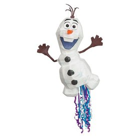 Olaf Disney Frozen 2 Pinata, Pull String, 13in x 2