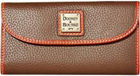 Dooney & Bourke Pebble Leather New SLGS Continenta