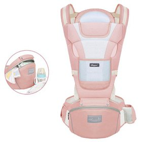 Baby Carrier with Hip Seat Convertible Ergonomic B