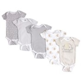 GERBER Baby Boys Adorable Elephant Onesies Outfit