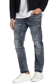 True Religion Geno Relaxed Slim Fit Moto Jeans
