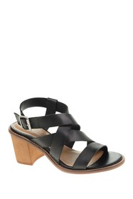 Chinese Laundry Cacey Leather Block Heel Sandal