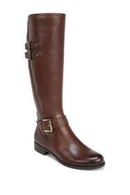 Naturalizer Jessie Leather Riding Boot - Wide Widt