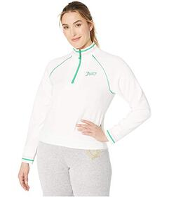 Juicy Couture Tricot Tennis 1\u002F2 Zip Pullover
