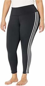 adidas Plus Size Believe This Stripe 7/8 Tights