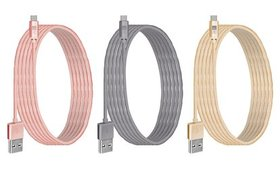 Case Logic 6 or 10ft. Braided Type-C to USB Cable