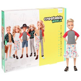 Creatable World Deluxe Character Kit Customizable