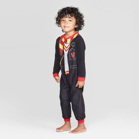 Toddler Boys' Harry Potter Blanket Sleeper - Black