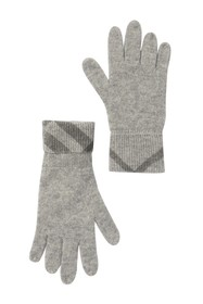 Burberry Check Knit Gloves (Kids)