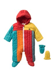 Burberry Bolton Puffer Suit With Mittens (Baby Boy