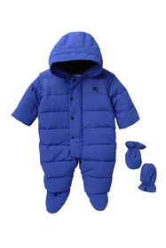 Burberry Ezra Puffer Suit With Mittens (Baby Boys