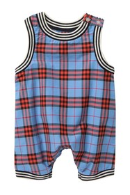 Burberry Michael Plaid Romper (Baby Girls)