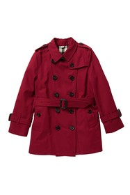 Burberry Mini Sandringham Trench Coat (Little Girl
